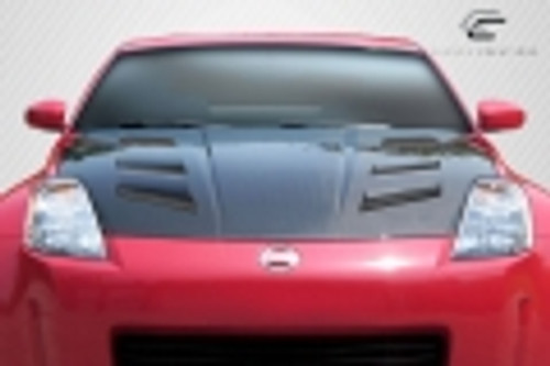 2003-2006 Nissan 350Z Carbon Creations DriTech AM-S Hood - 1 Piece