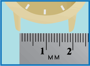 measure for a watch band