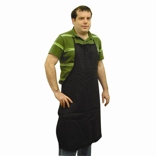 Light, flame resistant jeweler's apron