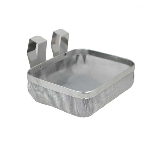 "4"" x 5"" Inch Extra Fine Mesh Stainless Ultrasonic Cleaning Basket"