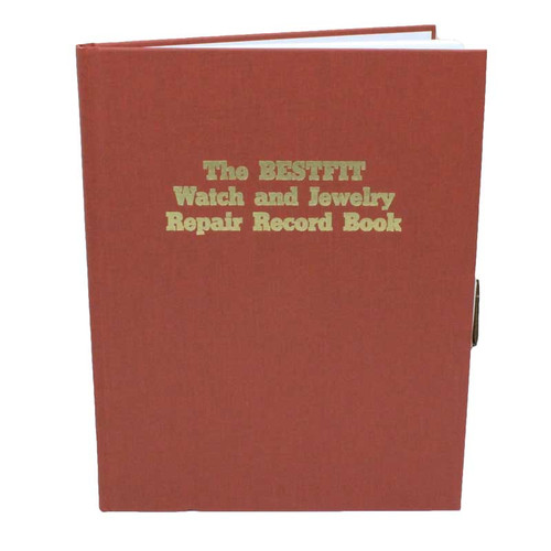 Record book for watch and jewelry repair
