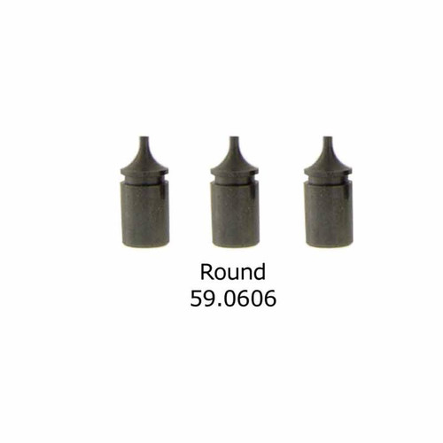 Round replacement tips for the L-G Case Opener