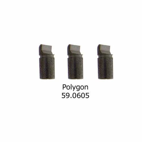 Replacement polygon tip for watch tool case opener