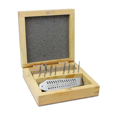 14 Piece Tap and Dies Watchmakers Set