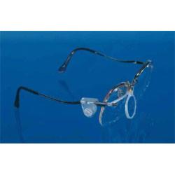 Lightweight single lens eyeglass loupe
