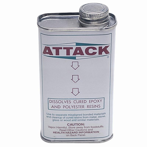 """Attack"" epoxy adhesive and resin dissolver or cleaner"