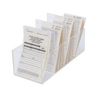 Wide plastic envelope holder for organizing repair envelopes