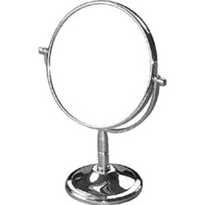 Deluxe chrome flip counter mirror