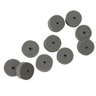 Cratex Small Square Abrasive Wheels (Fine or Extra Fine) Pkg of 10