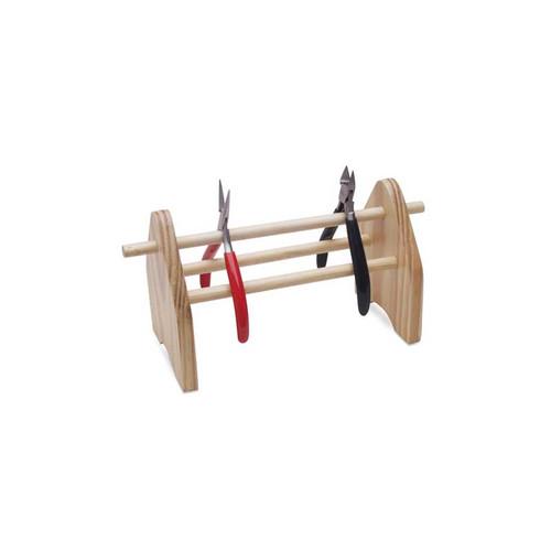 Jewelers Wood Pliers Rack for 10 PLiers