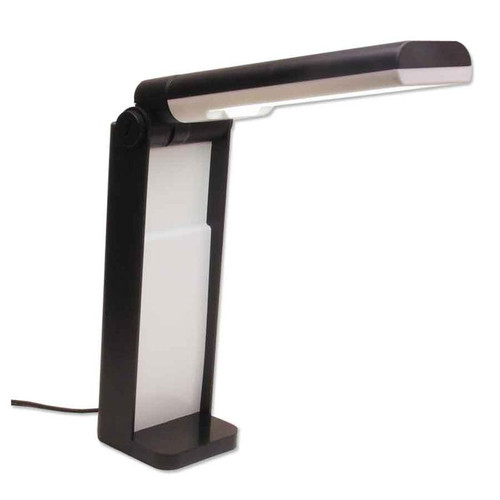Portable folding diamond grading light lamp for jewelry repair