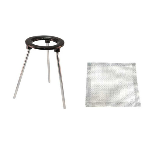 "Tripod with Mesh Screen 6-1/2"" Legs"