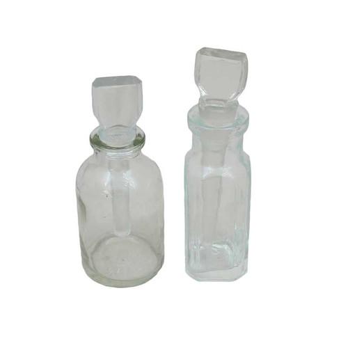 Glass Acid Storage Bottle Jar .5 oz