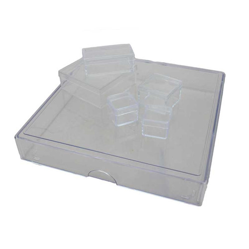 Clear Plastic Acrylic Storage Boxes Cases