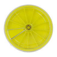 12 Compartment Plastic Revolving Tray