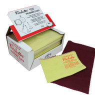 """Fabulustre Jewelry Polishing Cloth with Rouge and Buff  9"""" x 11"""" (each)"""