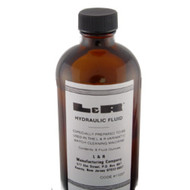 Bottle of hydraulic fluid for L&R Varimatic watch cleaning machine