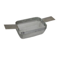 Fine Mesh Rectangular Ultrasonic Cleaning Basket