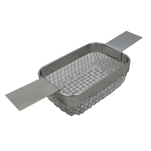 Mesh Steel Ultrasonic Cleaner Basket