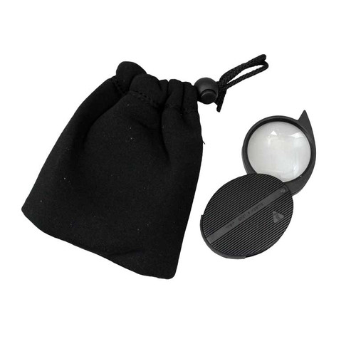 Bausch & Lomb pocket magnifiers in plastic case