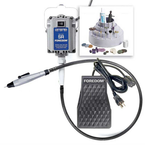 Foredom number 2220 jewelery making tool set for jewelers