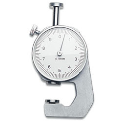 Precision jewelers milimeter gauge for measuring pearls and gemstones
