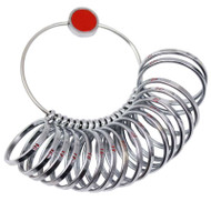 Jumbo Finger Ring Size Gauge