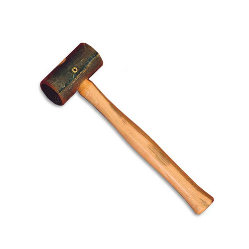 4 Oz. Rawhide Jewelry and Metal Mallet Hammer