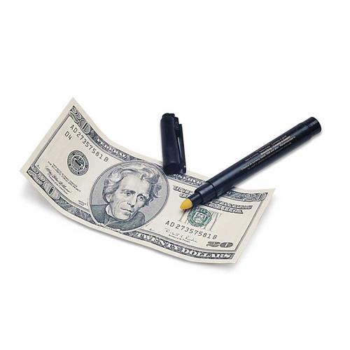 Money Detective Pen to Verify Legal Tender
