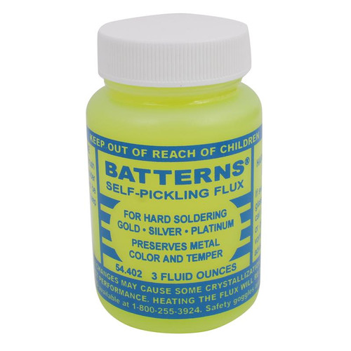 3 ounce Battern's self pickling hard soldering flux