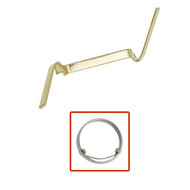Dozen king yellow gold filled counter-loc ring guards