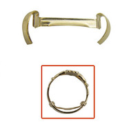 Yellow gold filled Stronghold ring guards for ring sizing