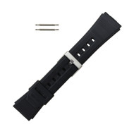 Rubber Watch Band 22 MM Sport Watch Band Fits Casio Databank
