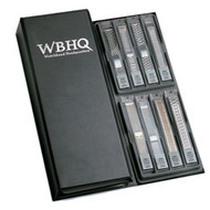 Folding WBHQ metal watch band presentation book