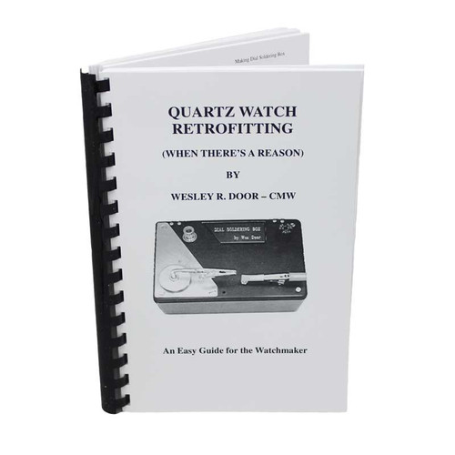 Watchmaker Quartz Watch Retrofitting Manual
