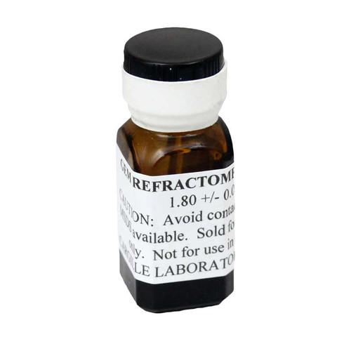 GemPro refractive index fluid helps identify stones with a refractometer