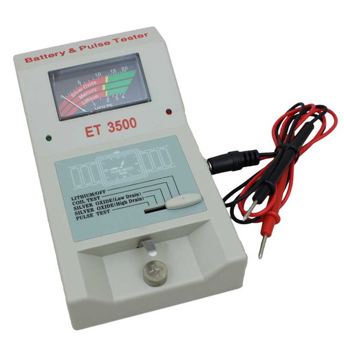 Watch Pulse and Battery Tester Meter