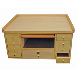 Watch and jewelry repair work bench