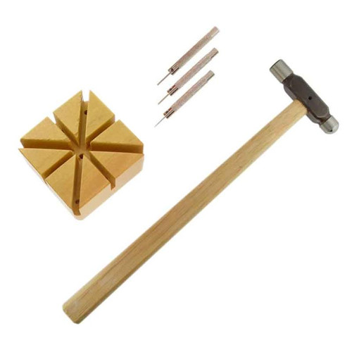 Watch band link remover kit