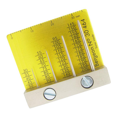 Bergeon 30464 watch hand measuring gauge