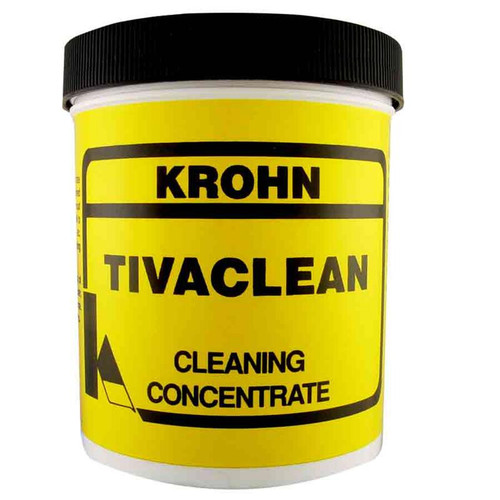 Tivaclean electrocleaner to clean jewelry prior to electroplating