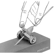 Bergeon 2462 graver sharpener block to keep your engraver sharp