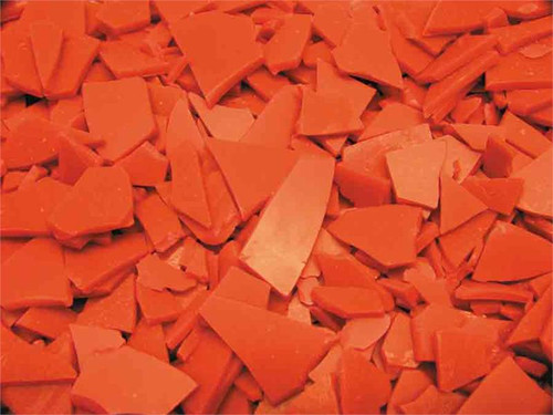 Quick solidification injection wax flakes