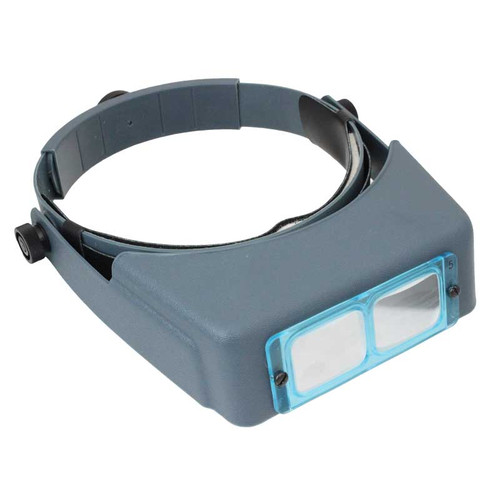 Optivisor hands free headband magnifier for jewelers and watchmakers