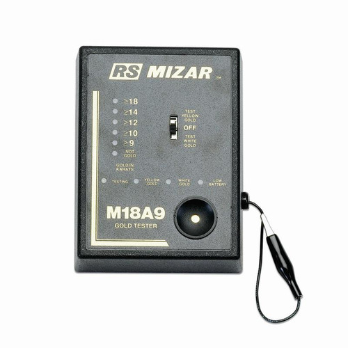 RS Mizar M18A9 electronic gold tester helps determine the carat