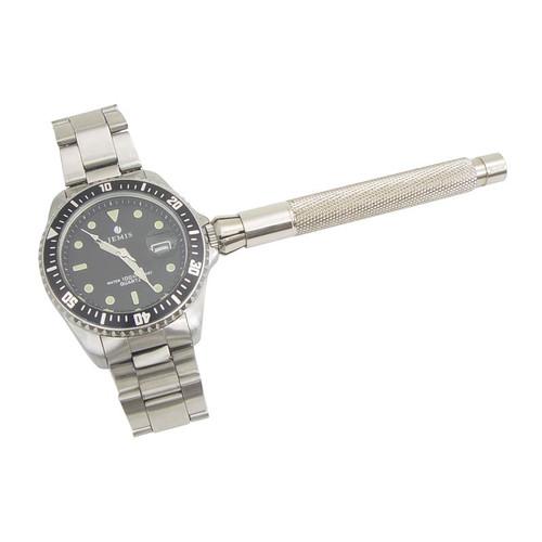 Watch crown winder watchmaker tool