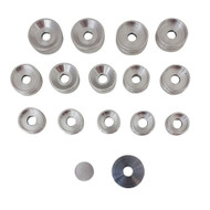 Aluminum Dies Set of 16