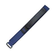Nylon Watch Strap Sport Style 19mm Blue