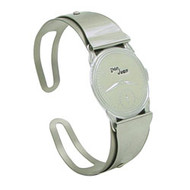 Large .75-inch Don Juan service model watchband in stainless steel