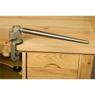 Mandrel mounted vise base with 360 degree rotation